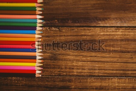 Fournitures scolaires bureau espace de copie coup studio Photo stock © wavebreak_media