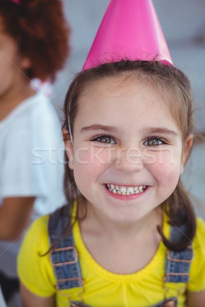 Izgatott gyerekek élvezi születésnapi buli gyerek néz Stock fotó © wavebreak_media