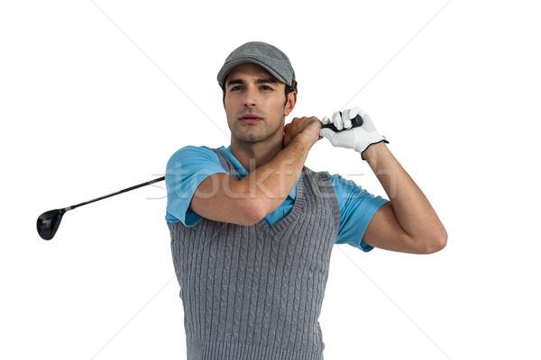 Golf player taking a shot Stock photo © wavebreak_media