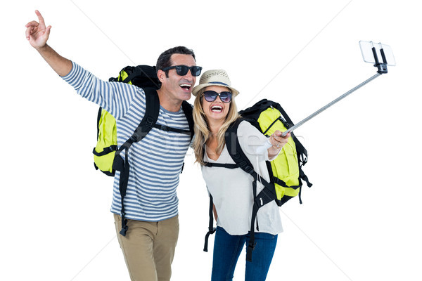Mid adult couple taking selfie Stock photo © wavebreak_media