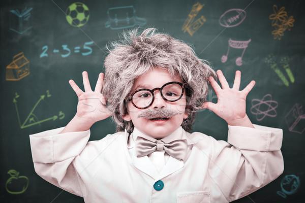 Composite image of school subjects doodles Stock photo © wavebreak_media