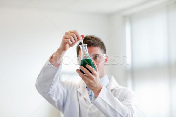 Orvos készít tapasztalat mosoly internet orvosi Stock fotó © wavebreak_media