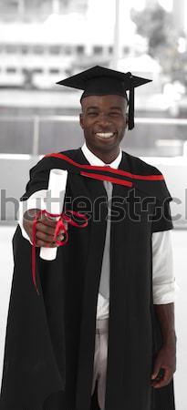 男 卒業 大学 お祝い 少年 小さな ストックフォト © wavebreak_media