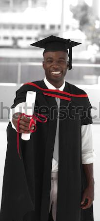 Man smilling at graduation Stock photo © wavebreak_media