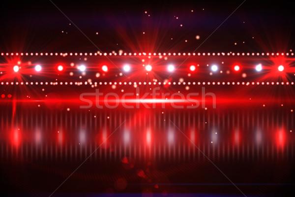 Digitális éjszakai élet terv piros buli Stock fotó © wavebreak_media