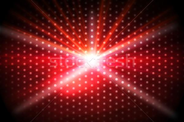 Cyfrowo wygenerowany disco czerwony strony Zdjęcia stock © wavebreak_media