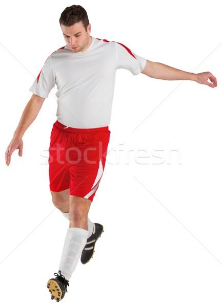 Biały piłka nożna świat piłka nożna Zdjęcia stock © wavebreak_media