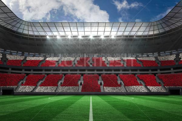 Piłka nożna stadion pełny Anglii fanów cyfrowo Zdjęcia stock © wavebreak_media