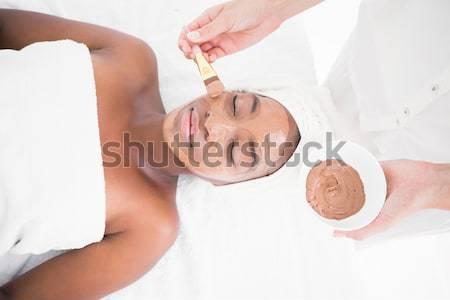 Piękna czekolady leczenie hotel Zdjęcia stock © wavebreak_media