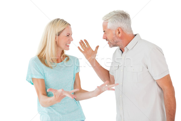 Unhappy couple having an argument  Stock photo © wavebreak_media
