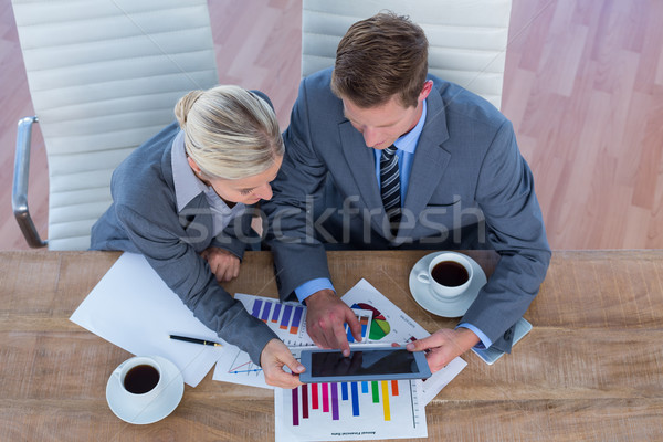деловые люди мозговая атака вместе служба человека команда Сток-фото © wavebreak_media