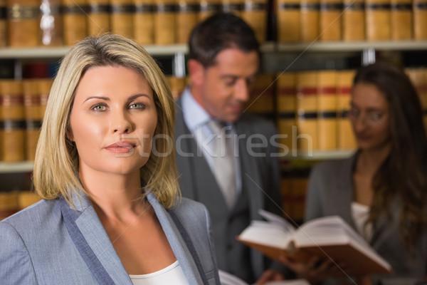 弁護士 法 ライブラリ 大学 図書 学校 ストックフォト © wavebreak_media
