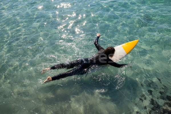 Surfista surfe mar ver Foto stock © wavebreak_media