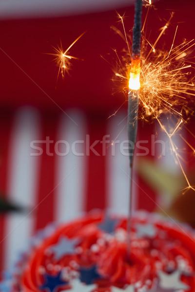燃焼 線香花火 装飾された クローズアップ ホット ストックフォト © wavebreak_media