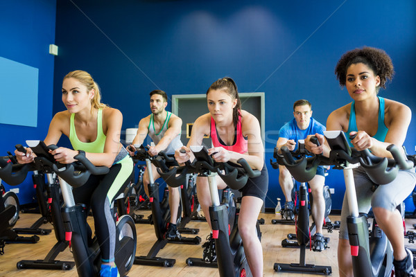 соответствовать люди спин класс спортзал женщину Сток-фото © wavebreak_media