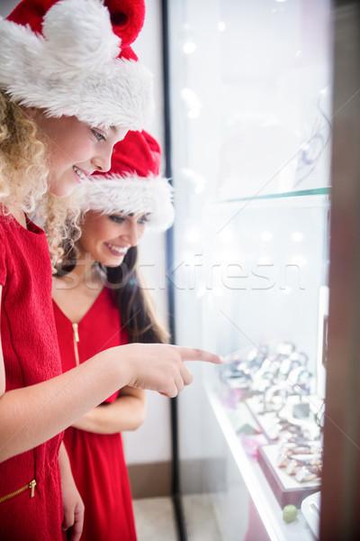 母親 娘 クリスマス 見える ストックフォト © wavebreak_media