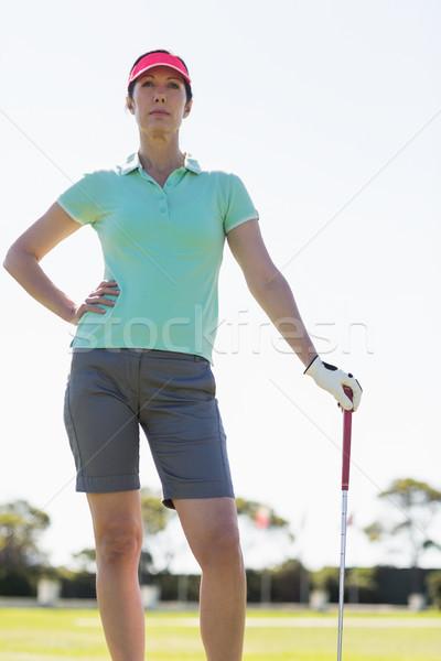 мнение гольфист женщину Постоянный Сток-фото © wavebreak_media