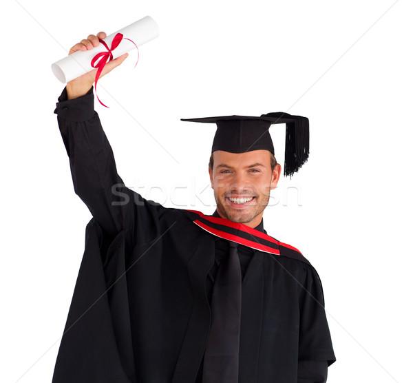 Happy boy after his graduation Stock photo © wavebreak_media