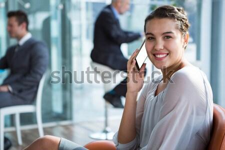 マネージャ 男性 申請者 オフィス ビジネス 会議 ストックフォト © wavebreak_media