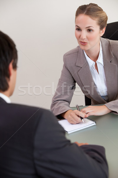портрет серьезный менеджера мужчины заявитель служба Сток-фото © wavebreak_media