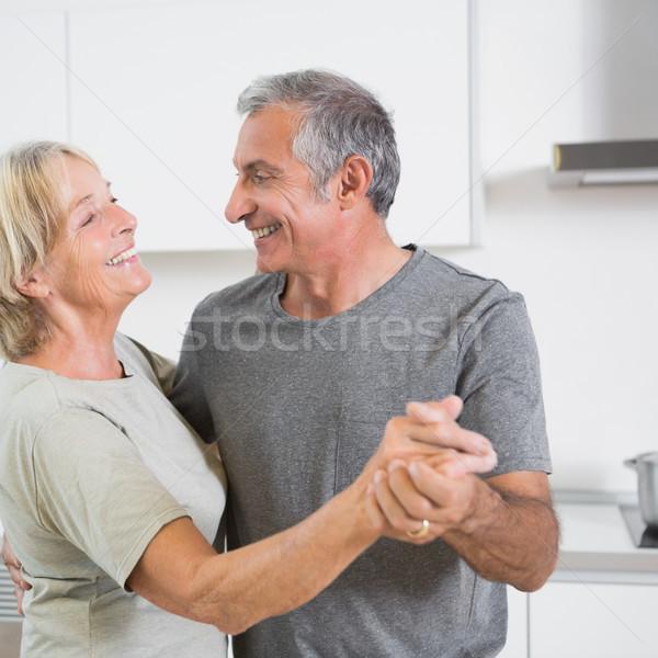 Smiling mature couple dancing together  Stock photo © wavebreak_media