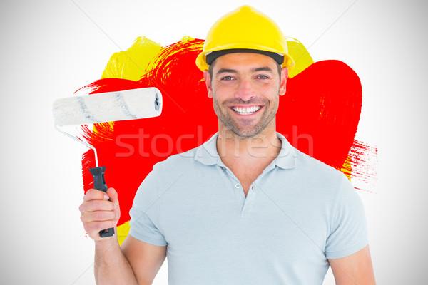 Imagen retrato manual trabajador Foto stock © wavebreak_media