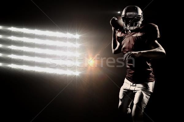 画像 肖像 スポーツマン アメリカン ストックフォト © wavebreak_media