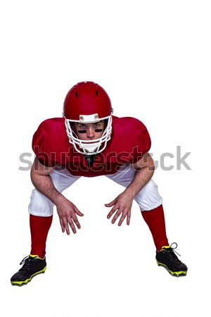 American football player about to make a pass Stock photo © wavebreak_media