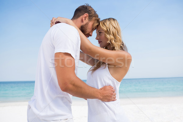 Side view of affectionate couple at beach Stock photo © wavebreak_media