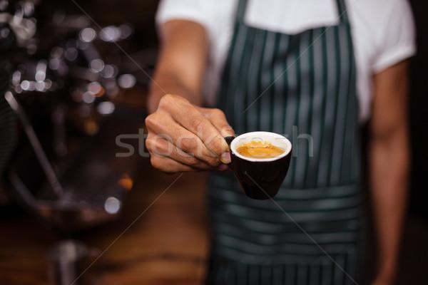 Barista offering an espresso Stock photo © wavebreak_media
