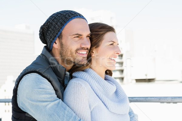 Happy young couple embracing Stock photo © wavebreak_media