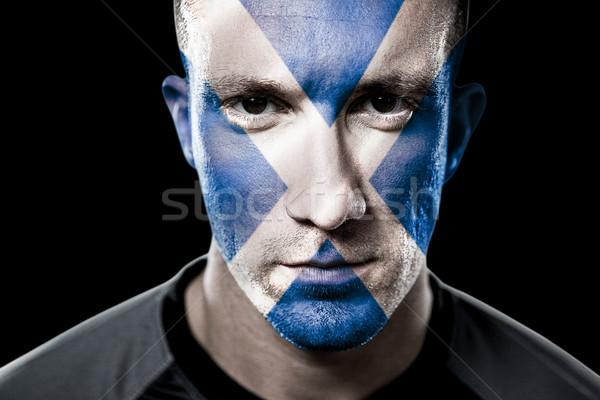 Composite image of scottish rugby player Stock photo © wavebreak_media