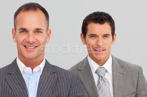 Portrait of confident businessmen with folded arms Stock photo © wavebreak_media
