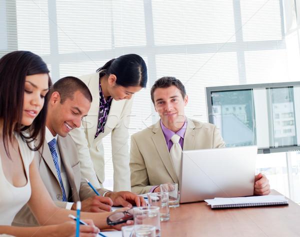 International business people having a meeting Stock photo © wavebreak_media