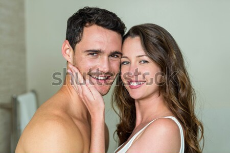 Charming couple relaxing in each others Company Stock photo © wavebreak_media