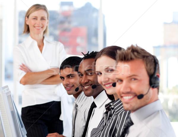 肖像 經理 代表 團隊 辦公室 商業照片 © wavebreak_media