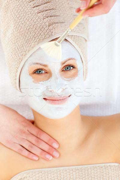 Twee female having a massage Stock photo © wavebreak_media