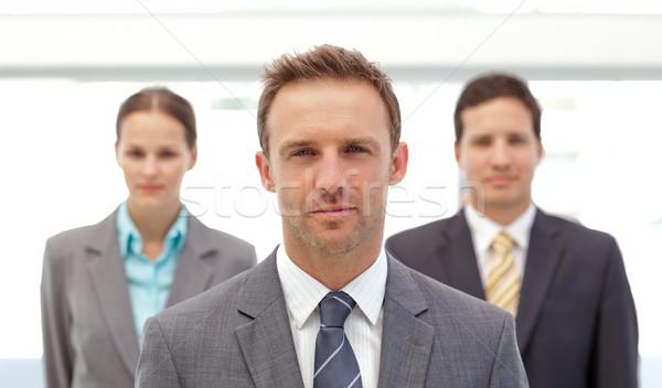 харизматический менеджера позируют служба человека Сток-фото © wavebreak_media