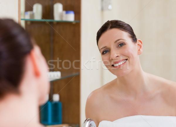 Donna up bagno pelle femminile Foto d'archivio © wavebreak_media