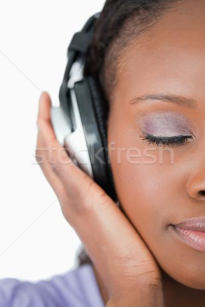Musica bianco sfondo Foto d'archivio © wavebreak_media