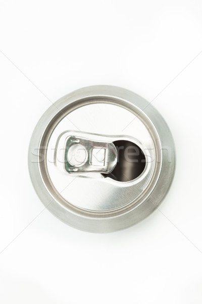 Empty can to be recycled on white background Stock photo © wavebreak_media