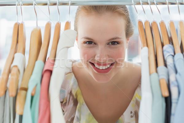 Feliz femenino cliente primer plano retrato Foto stock © wavebreak_media