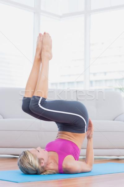 Sottile gambe fianchi esercizio Foto d'archivio © wavebreak_media