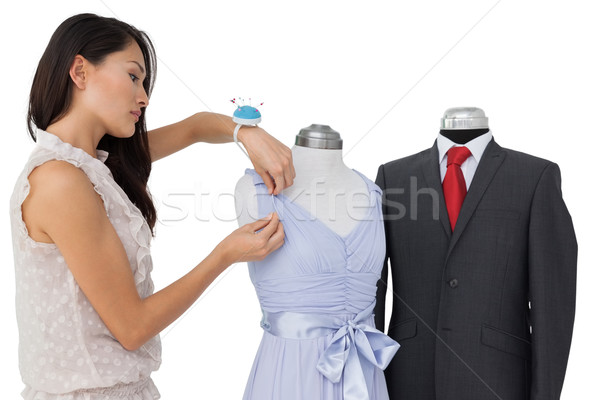 Feminino moda estilista isolado branco negócio Foto stock © wavebreak_media