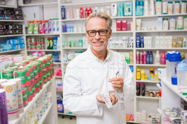 Farmacéutico medicina ampolla Pack farmacia Foto stock © wavebreak_media
