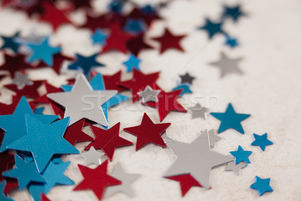 Star vorm decoratie witte textiel Stockfoto © wavebreak_media