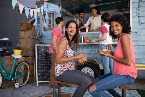 Сток-фото: счастливым · друзей · портрет · бизнеса · женщину