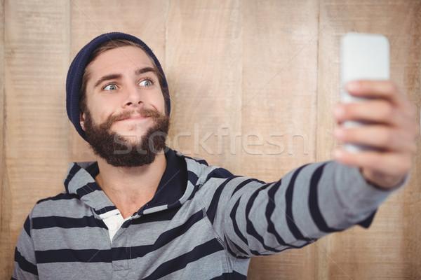 Cara toma teléfono móvil Foto stock © wavebreak_media