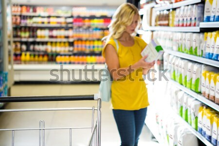 Detail of woman pushing cart Stock photo © wavebreak_media