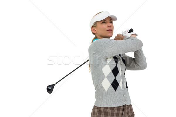Shot bianco donna golf Foto d'archivio © wavebreak_media